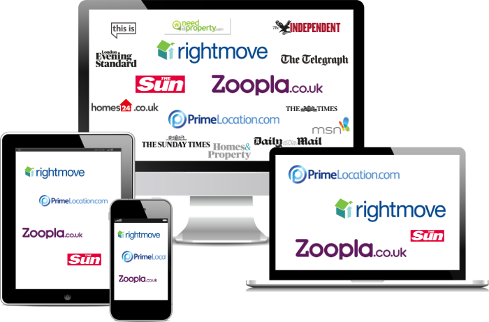 Property advertising on rightmove and primelocation