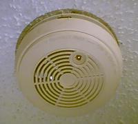 Mandatory smoke alarm.