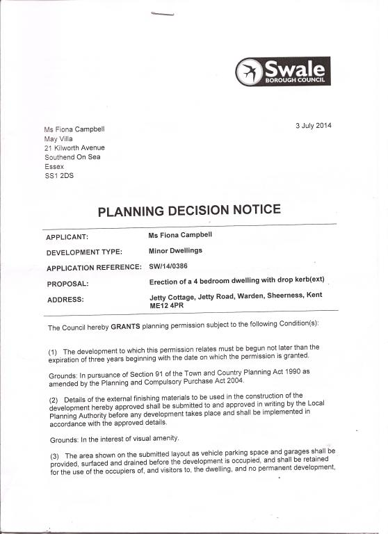 Plot Sold in Sheerness, ME12